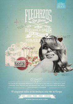 Advertising Campaign for Chic Place Webside, BCN | Alex Ramon Mas StudioAlex Ramon Mas Studio #typography #design #graphic #advertising