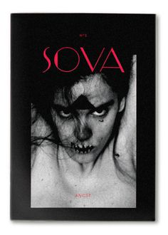 Sova Magazine (Issue 2) – Fear/AngstSova Magazine is an independent, 250 500 copies limited and completelyself published art magazine, wit #cover #typography