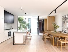 Melbourne House Created by Inglis Architects - #kitchen, kitchen ideas, kitchen design, #furniture