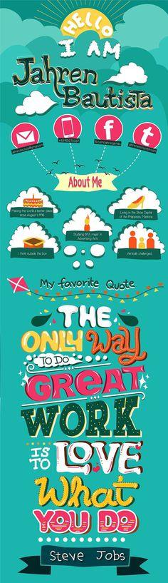 Creative Resume by Jahren Bautista