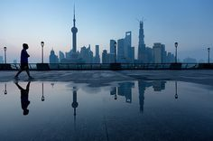 Shanghai Cityscapes Photographs by Jens Fersterra #photography #night #people #city #shanghai