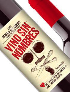 Odear spansk etikett #label #wine