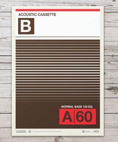 5c9dcc83b205a3aba2c9bebb7fc10005 #cassette #stevens #neil #print #illustration #poster #type #colour