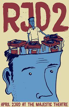 RJD2 - Gig Poster
