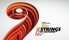 Struny podzimu 2010 visual identity - Touch Branding #print #branding