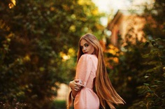 Beauty and Vibrant Female Portrait Photography by Stas Pushkarev