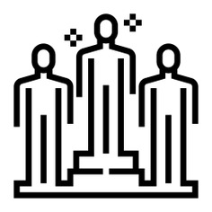 See more icon inspiration related to accomplish, success, person, goal, achieving, achievement, goals, increase, networking and people on Flaticon.