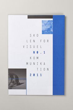 Svk Magazine #print #layout #cover #magazine #negative space