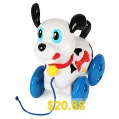 Baoli #Electric #Haul #Dog #Toy #Naughty #Puppy #- #MULTI