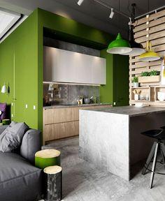 Austrian Loft by Tatyana Bobyleva austrian loft project tatyana bobyleva 8 #interior #kitchen #design