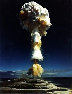 I was never Elvis » Every Reason to Panic #mushroom #explosion #smoke #cloud #photography