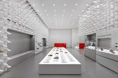 camper store nendo #nike #shoes #retail