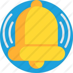 See more icon inspiration related to miscellaneous, musical instrument, notification, alert, communications, alarm, ring, instrument, bell and music on Flaticon.
