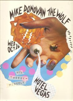 Mike Donovan (from Sic Alps) w/ The Wolf #gig #poster