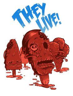 illustration on the Behance Network #cream #print #shirt #illustration #tee #zombie #ice