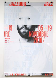 More Jazz in Strausbourg #jazz #france #poster #typography