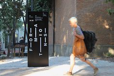 13th Venice Architecture BiennaleExhibition design #street #sign #environmental