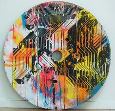 Ollie Lucas | PICDIT #design #color #painting #art #circle #colour