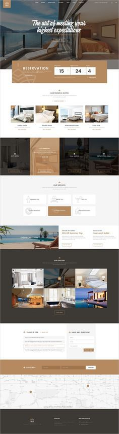 Solaz is an elegant PSD template for hotels, #lodges, #inns #website with 4 unique homepage layouts to download click on the image.