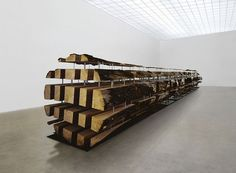 Haunch of Venison, Berlin : from Damien Hirst's formaldehyde zebras to Yoko Ono's anti-violence prescription from the medicine cabinet - News - #exhibition #wood #art