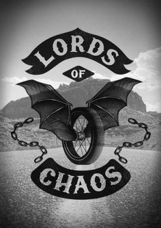 LORDS OF CHAOS on the Behance Network #sailor #logo #devil #hobo #poster #type #typography