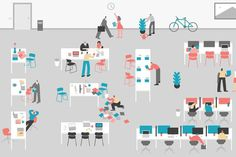 people, office, space, bike, work, table, chair #chair #office #space #people #bike #table #work