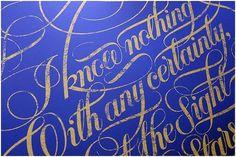 Typographic / plenty of colour #type