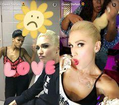 Gwen Stefani's Snapchat Username