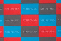 Stripeland by Patrick Fry #business #cards