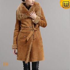Women Shearling Lined Coats CW640235 #shearling #coats #lined