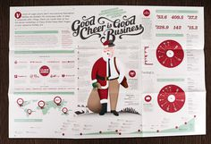 Company Christmas Card #invitation #design #graphic #christmas #illustration #info #typography