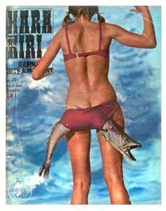 7ud2d1wRV95jlvp5DG1jpD3S_500.jpg (JPEG Imagen, 500x637 pixels) #girl #fish #cover #vintage #editorial