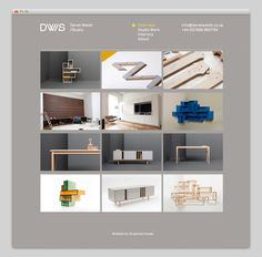 Derek Welsh Studio #website #layout #design #web
