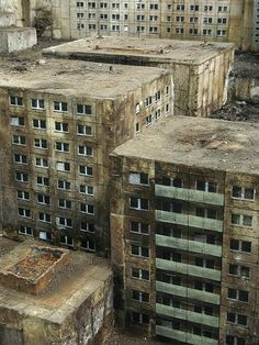 Untitled | Flickr - Photo Sharing! #art #building #stencil #abandoned #highrise