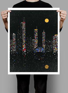 Fragmental City – Yao Yu
