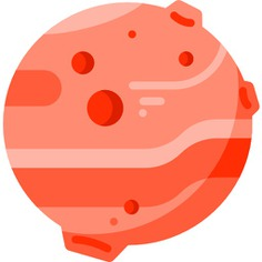 See more icon inspiration related to planet, miscellaneous, mars, solar system, astronomy, education, science and nature on Flaticon.