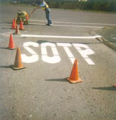 SOTP-huge-white-misspelled-freshly-painted-stop-sign-on-road-ANON.jpg 419 × 436 pixler #sign #paint #stop