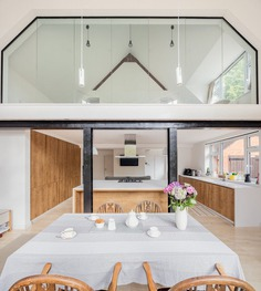 Old Billiard Hall Converted into an Open Plan Living Space