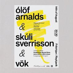 Arnar Freyr Guðmundsson, Graphic designer #poster