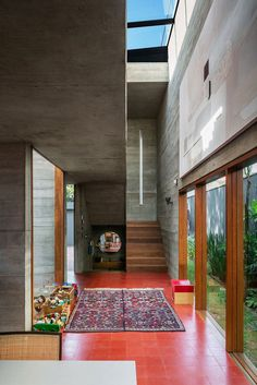 Brutalist-Inspired Concrete House in Sao Paulo by UNA Arquitetos 10