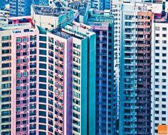 Hong Kong facades by Miemo Penttinen thumbnail_2 #art
