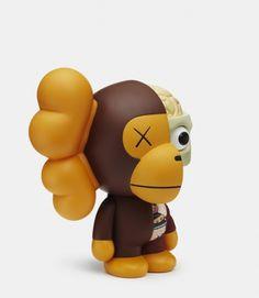 Kaws x Bathing Ape: Milo Toy | Sgustok Design
