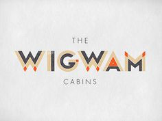 typeverything.com  Wigwam by Jennifer Lucey Brzoza #geometric