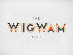 typeverything.com Wigwam by Jennifer Lucey Brzoza #geometric