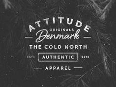 Attitude #logo #logo type