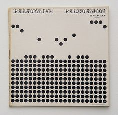 FFFFOUND! | Persuasive-Percussion.JPG 600×588 píxeles #dots #album #blackwhite