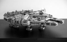 Swiss Cheese and Bullets — An unfeasible wishlist #millenium #lego #wars #space #falcon #star #toy