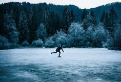 Slovenian Skaters Shredding Through The Woods and Ice by Anze Østerman