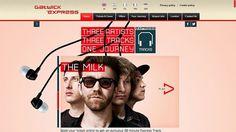 Gatwick Express Tracks #vnwebdesigner
