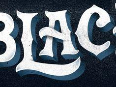 Dribbble - Black by Nick Slater